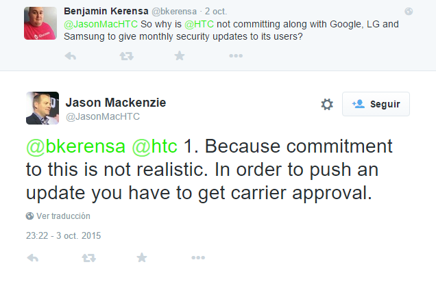 tweet htc jason mackenzie