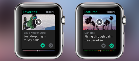 Vine para Apple Watch (1)
