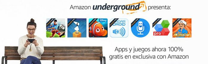 Amazon Underground espana