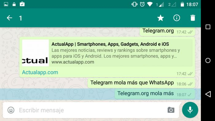 WhatsApp bloquea url Telegram (2)