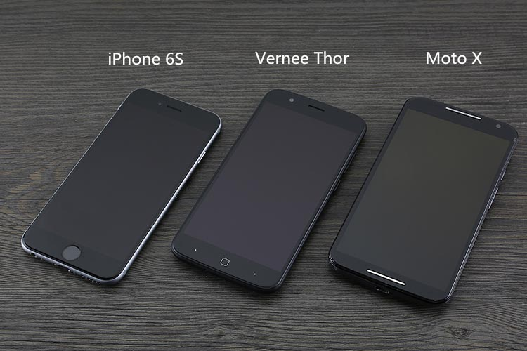 vernee thor iphone 6s moto x comparacion blog