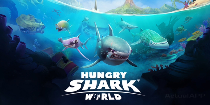 hungry shark world actualapp portada