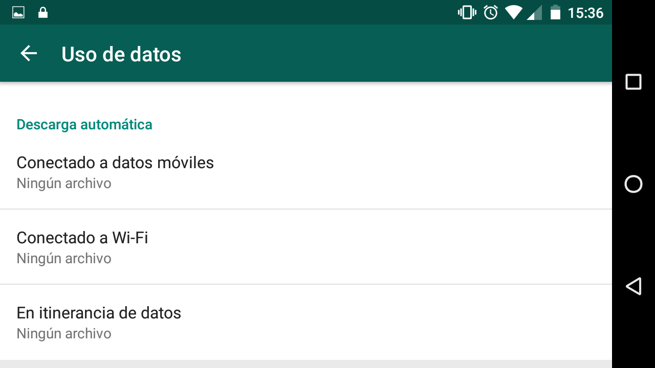 whatsapp liberar espacio Screenshot_20160601-153651 - copia