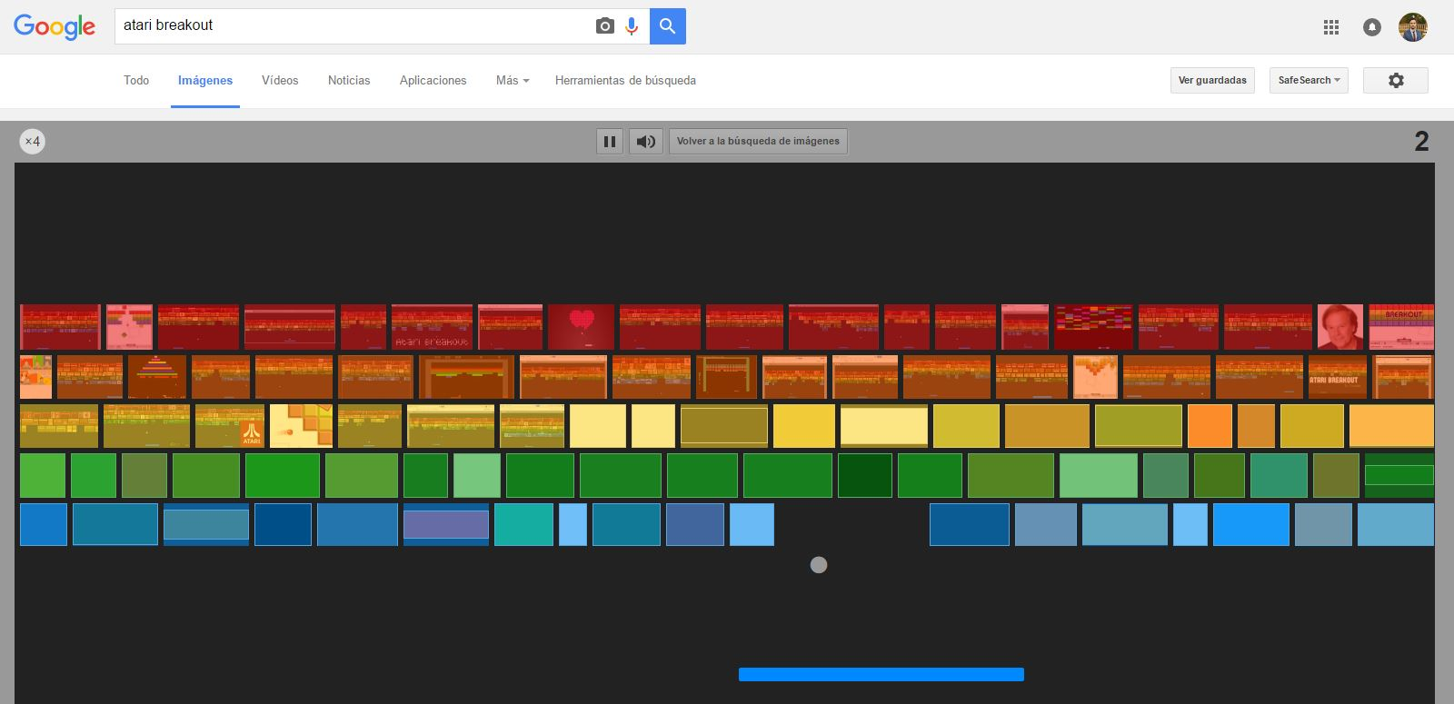 how to play atari on google