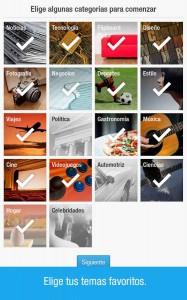 Temas de Flipboard