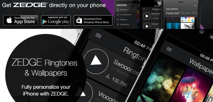 Descarga fondos de pantalla y tonos de llamada para tu móvil con Zedge