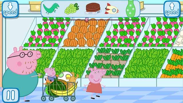 Peppa en el Supermercado