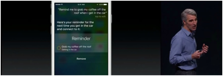 Siri recodatorio
