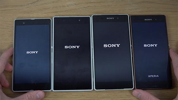 Familia Sony Xperia Z; en la portada, el Sony Xperia Z3+