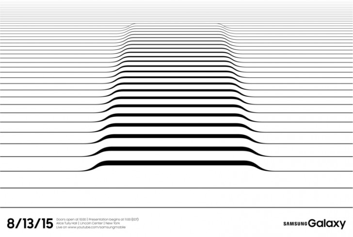 Imagen promocional del Samsung Galaxy Unpacked del 13 de agosto.
