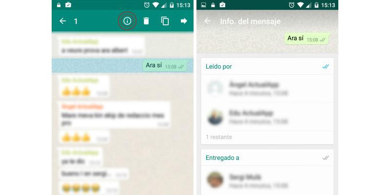 Whatsapp Mensaje leido2