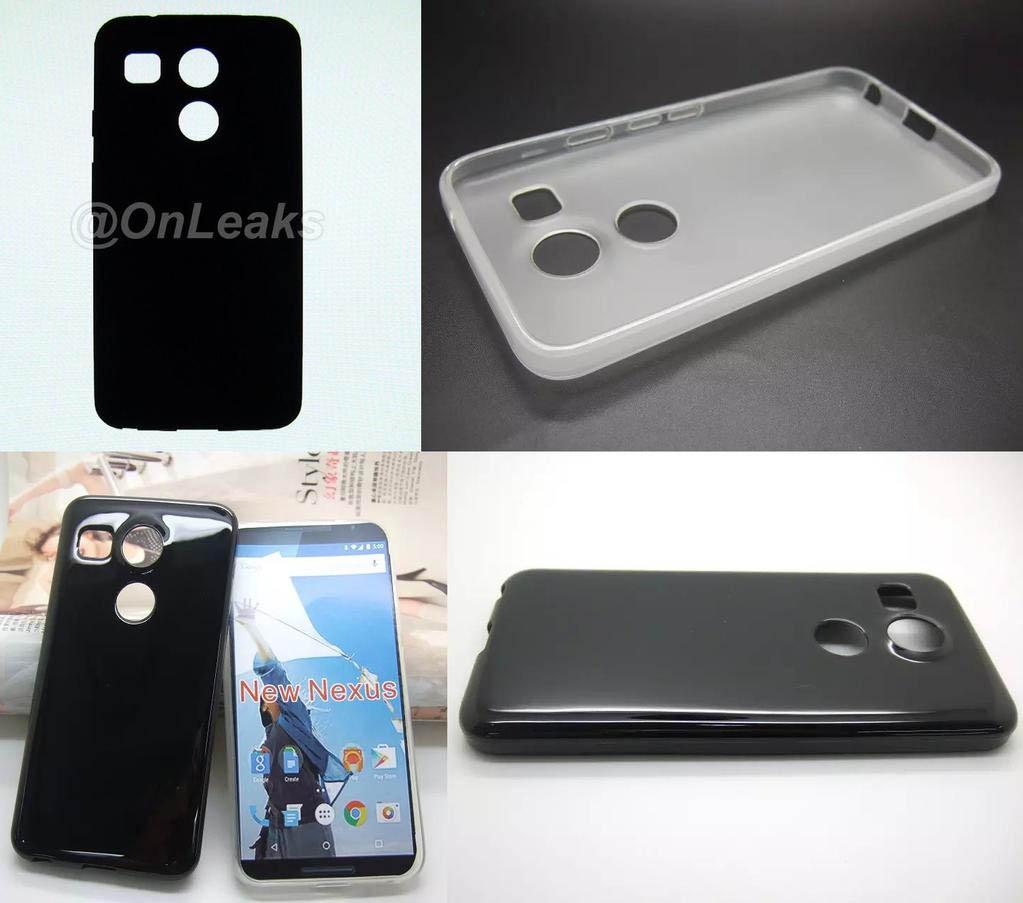 Dos tipos de funda diferentes para el Nexus de LG.