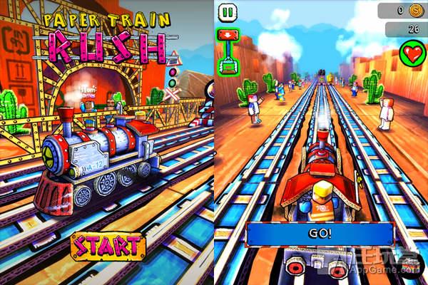 Paper Train Rush