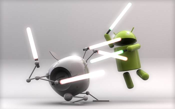 silicon valley android vs apple