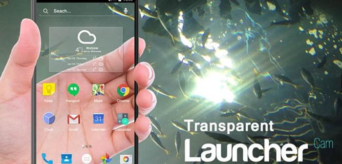 Transparent Launcher
