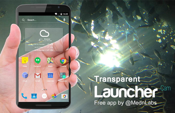 Transparent Launcher