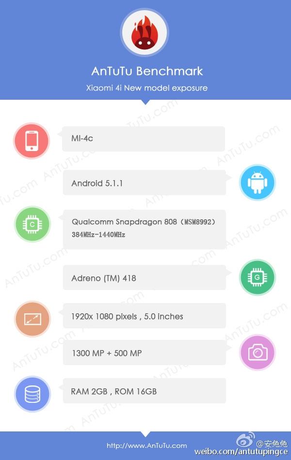 Xiaomi Mi 4c anTuTu
