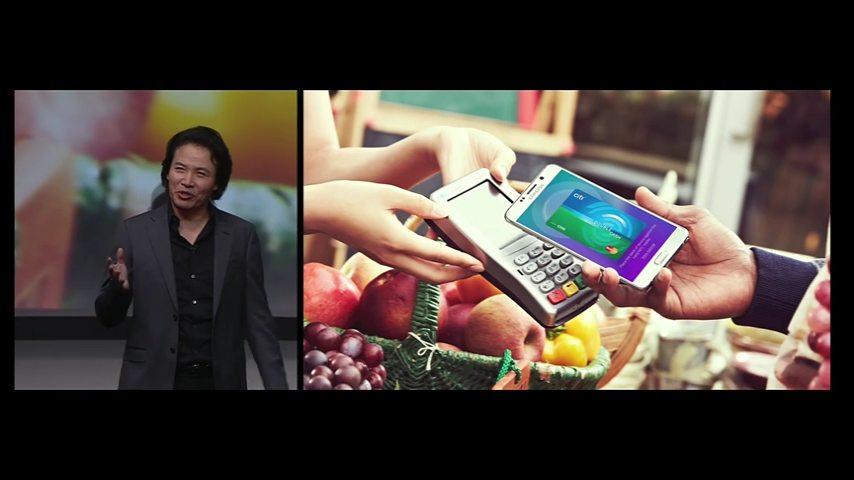 Samsung Pay en un datáfono corriente