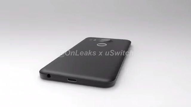 Parte trasera del LG Nexus 5