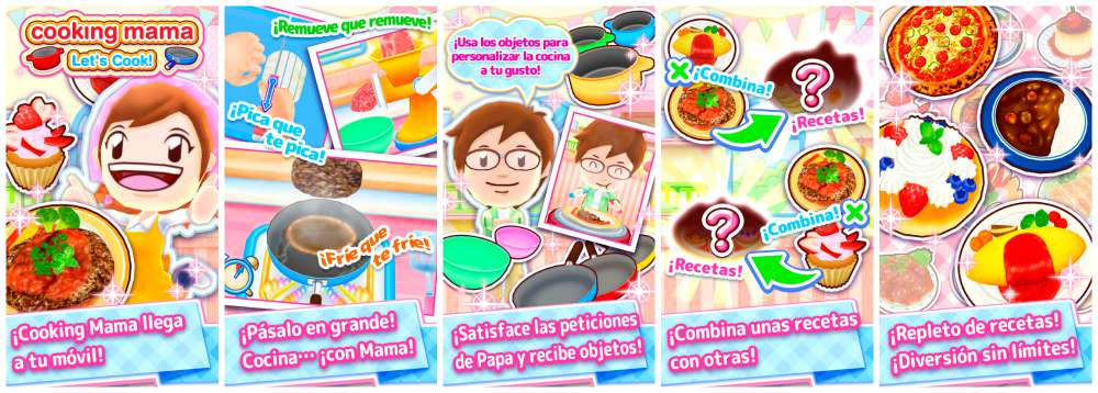 Cooking Mama cuerpo