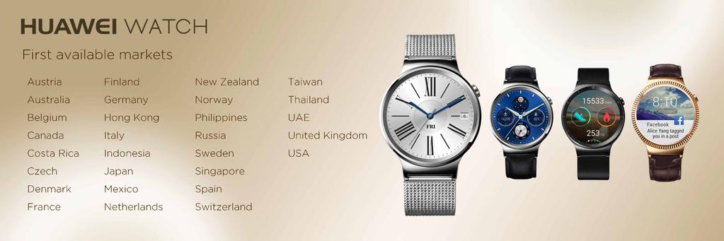 Huawei watch lanzamineto