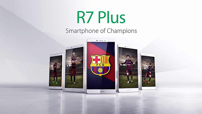 Oppo R7 Plus FC Barcelona Edition