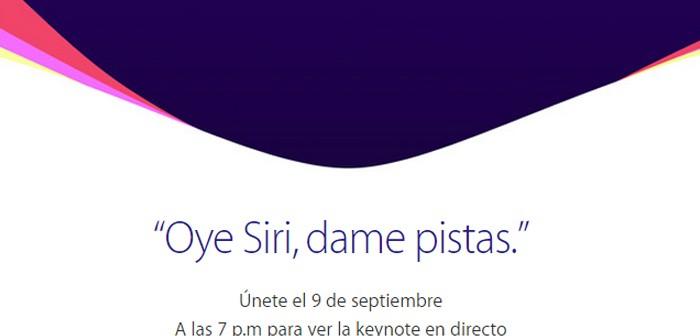 Keynote de Apple de septiembre 2015