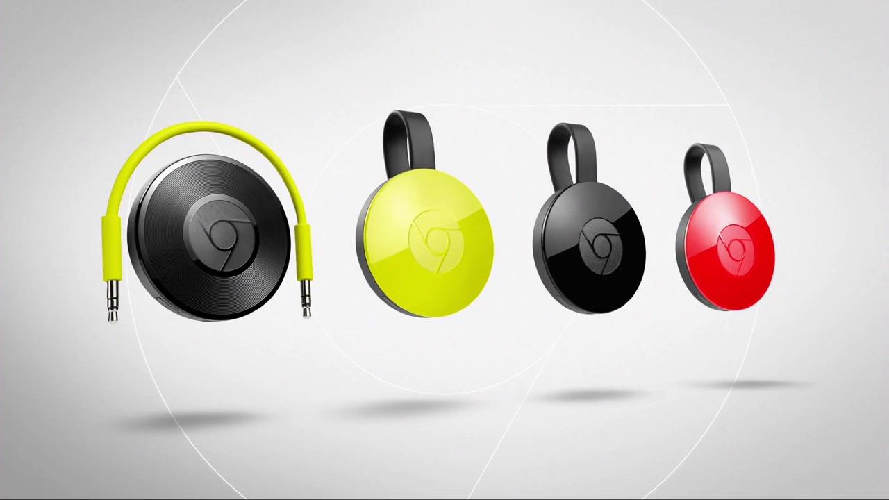 Chromecast Audio y el nuevo Chromecast