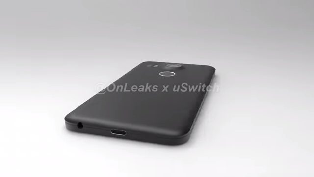 Una recreación del Nexus 5X a partir de esquemas filtrados