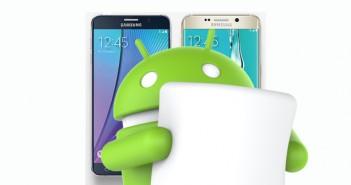 Samsung que actualizarán a Android 6.0