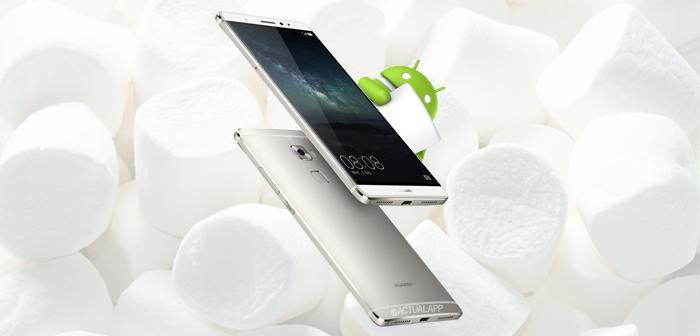 Huawei que actualizarán a Android 6
