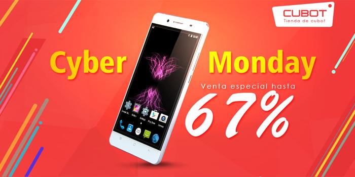 Cyber Monday: smartphones Cubot con envío gratis y regalos