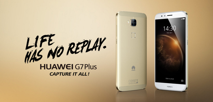 El Huawei G7 Plus ya es oficial: 5,5 pulgadas Full HD y 13 MP de cámara