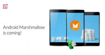 OnePlus anuncia la actualización a Android 6.0 Marshmallow de sus terminales