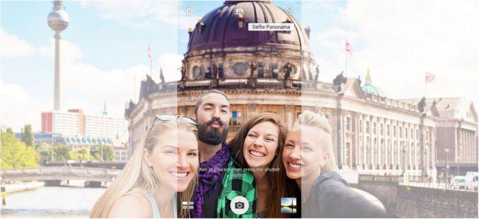 Selfie Panorama de 140 grados.