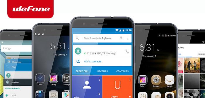 Precios locos en Ulefone: Ulefone Be Pro 2, Be Touch 2, Paris y smartwatch uWear