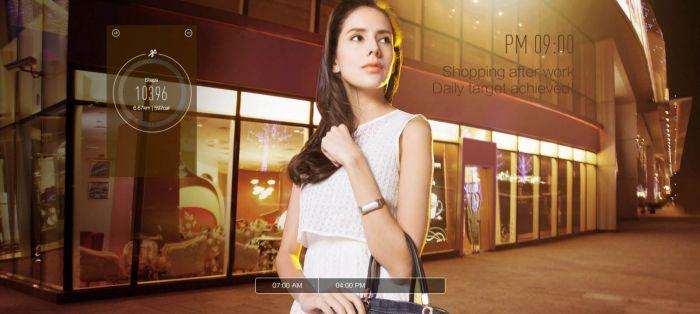 Xiaomi Mi Band chica1