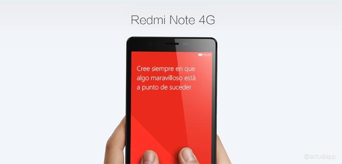 Aprovecha esta oferta del Xiaomi RedMi Note 4G y cómpralo al mejor precio desde España