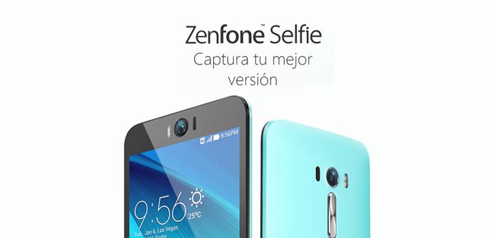 ASUS ZenFone Selfie, un smartphone con una cámara frontal de 13 MP