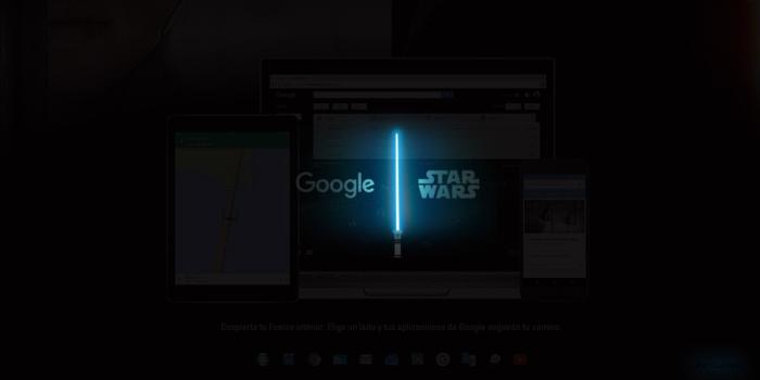"""Star Wars y Google se unen para """"Despertar la Fuerza"""""""