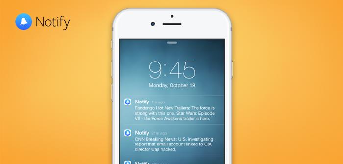 Notify, la nueva app de Facebook que te notifica de noticias, ya está en iOS