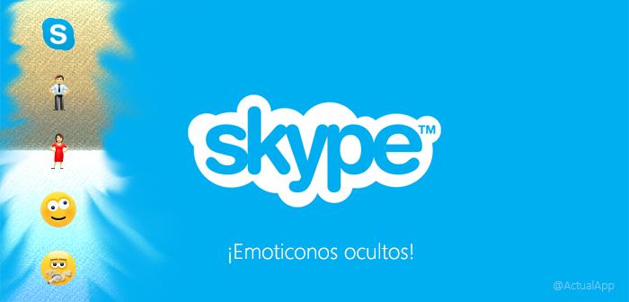 Lista completa de emoticonos de Skype
