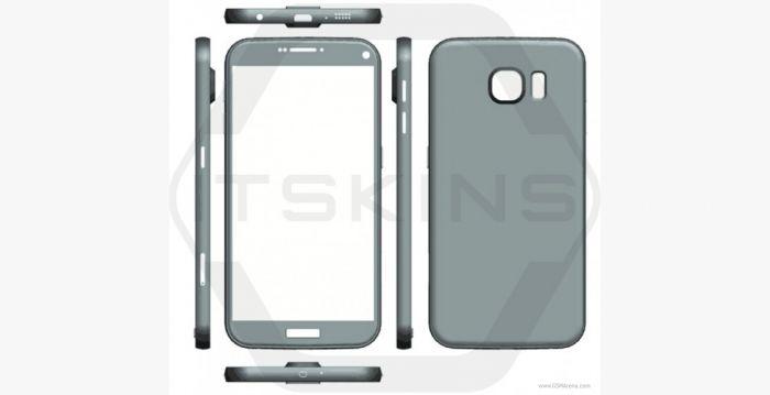Diseño del Samsung Galaxy S7