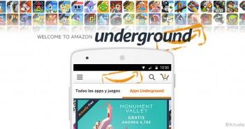 Amazon Underground llega a España con apps de pago, gratis