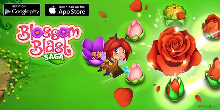 Descargar Blossom Blast Saga, de los creadores de Candy Crush
