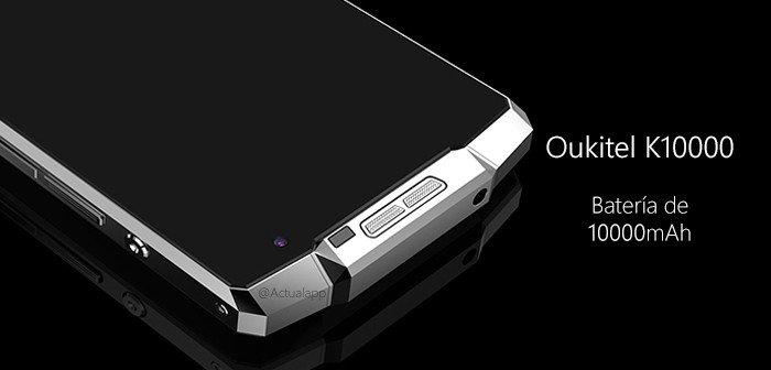 Oukitel K10000, el smartphone con más batería del mundo