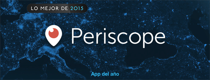 Periscope app del ano iphone