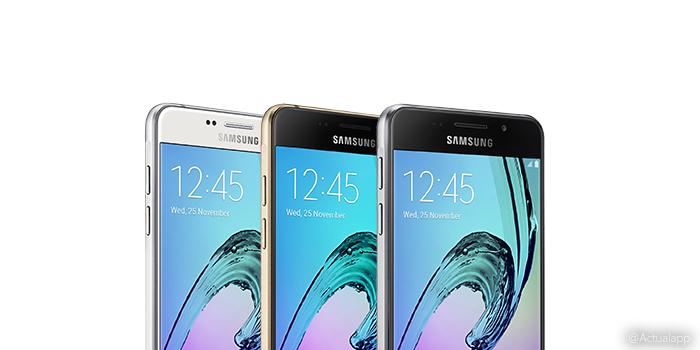 Nuevos Samsung Galaxy A7, A5 y A3 anunciados oficialmente