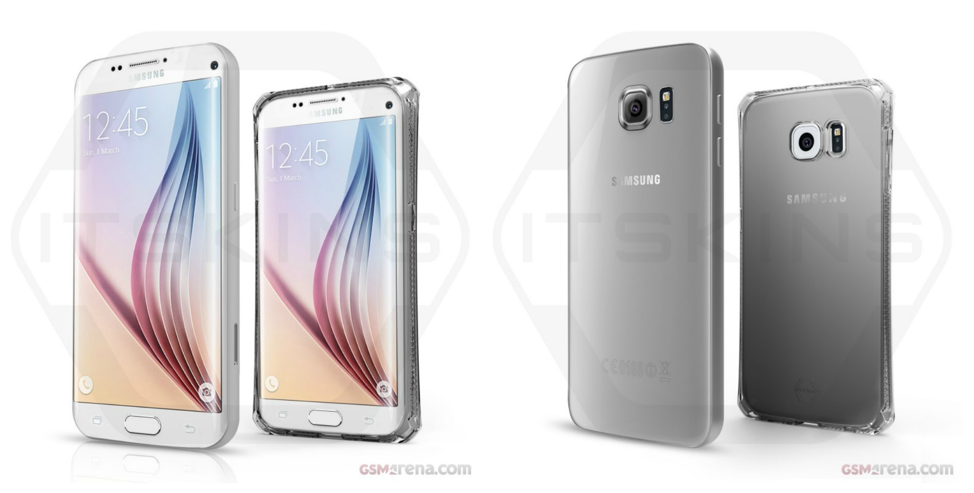 Samsung Galaxy S7 edge y edge+ renders funda