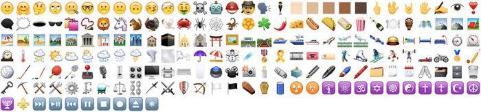 Unicode 7 y 8